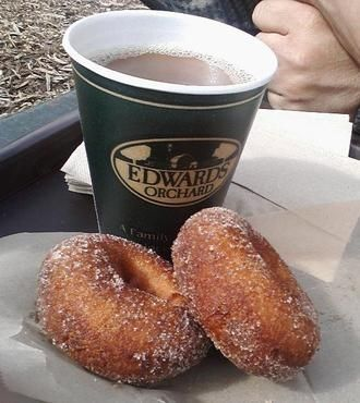 Edwards Orchard cider & donuts