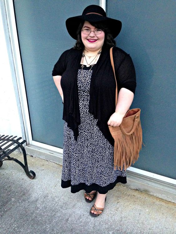 Unique Geek: Plus Size OOTD: Bohemian Spring: