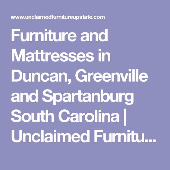 unclaimed furniture spartanburg sc