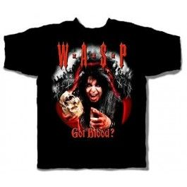 W.A.S.P. Got Blood Double Sided Tee - BANDS