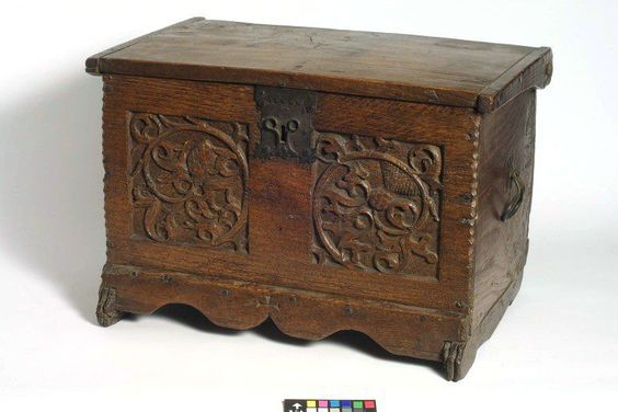 Chest Medieval Furniture Carpentry Joinery Antique Boxes