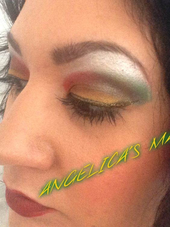 Angelica's make-up