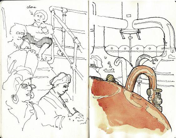 petit carnet, petits dessins   by gerard michel