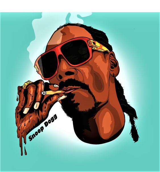 Cartoon Adobe Illustrator Snoop Dogg Hip Hop Illustration Hip Hop Artwork Hip Hop Art