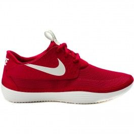 nike solarsoft moccasin red