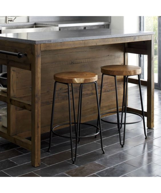 Crate And Barrel Stools And Kitchen Islands On Pinterest