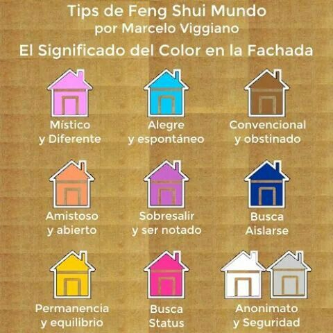 Color en la fachada casa feng shui pinterest colors - Pintar exterior casa ...