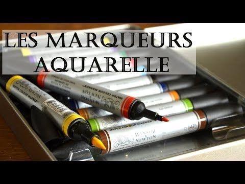 Utiliser Les Marqueurs Aquarelle Une Video De Demonstration De