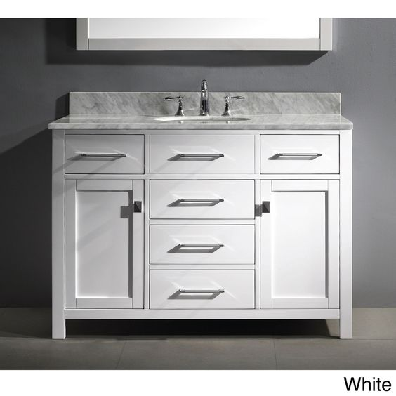 Vanity set bathroom vanities and great deals on pinterest for Bath sink and toilet packages