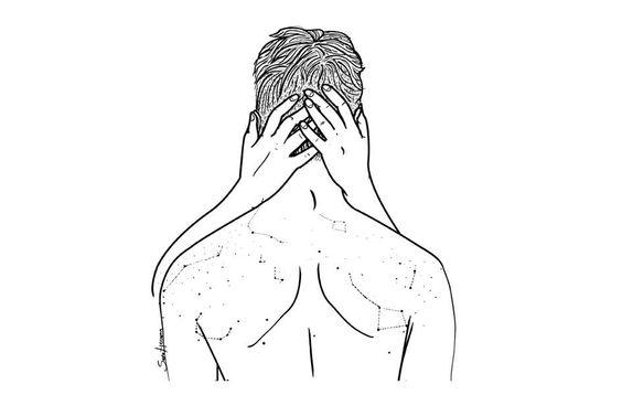 Y besar la constelación de lunares de tu espalda