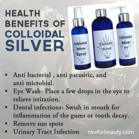 Silver #colloidalminerals