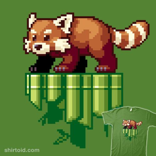 Red Pixel In 2020 Pixel Art Red Panda Pixel