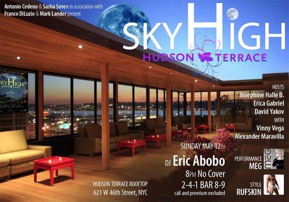 May 24, 2014 Hudson Terrace Flyers Pinterest