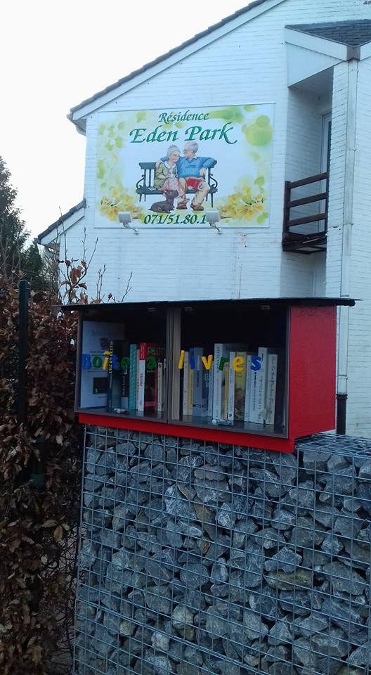 Boîte à livres Montigny-le-Tilleul (Charleroi 5)