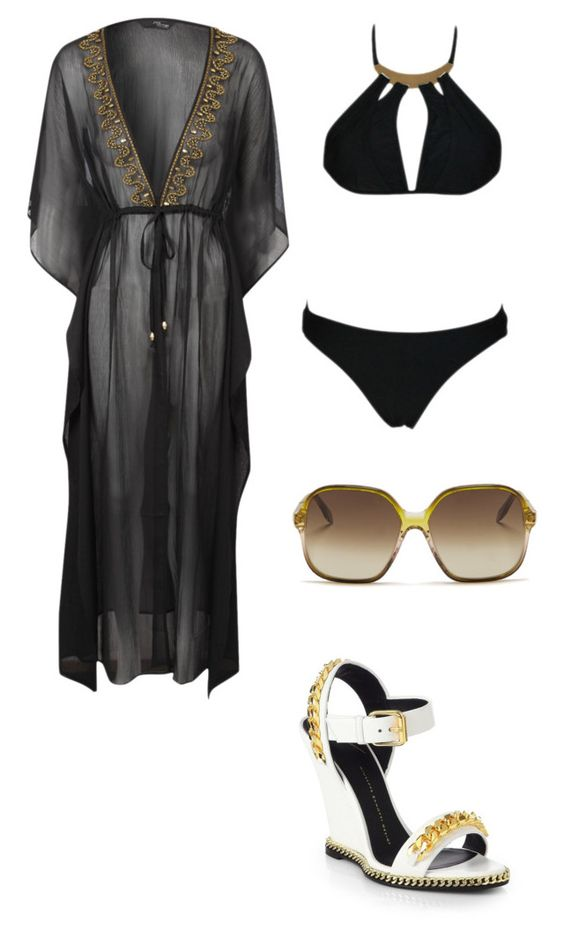 Pool by ssscassidy on Polyvore featuring polyvore, fashion, style, Jane Norman, Chicnova Fashion, Giuseppe Zanotti and Victoria Beckham