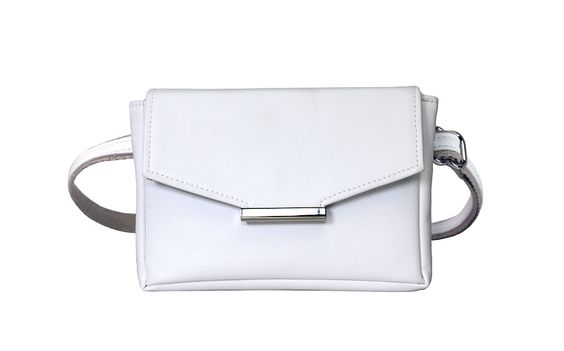 HFS Convertible Belt Bag in White