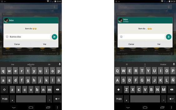 Ya es posible Responder mensajes de WhatsApp en Android desde las notificaciones, al menos en la versión beta de la app y pronto para el resto de usuarios.