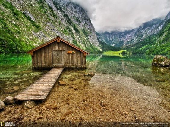 Obersee lake is located in south-east Bavaria, Germany.  Photo by Vibhav Gupta.   Great place to visit if you go to Oktoberfest - http://guide.travelatus.com/oktoberfest/