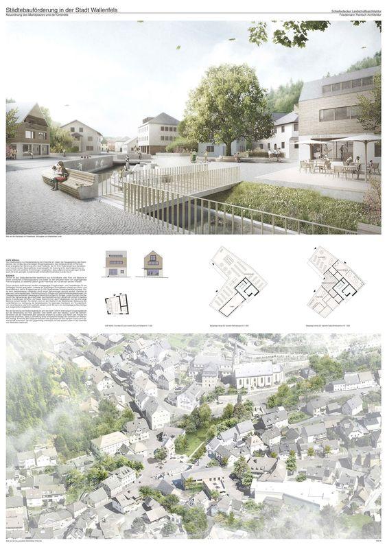 3. Preis: Vision: Ortsmitte Wallenfels