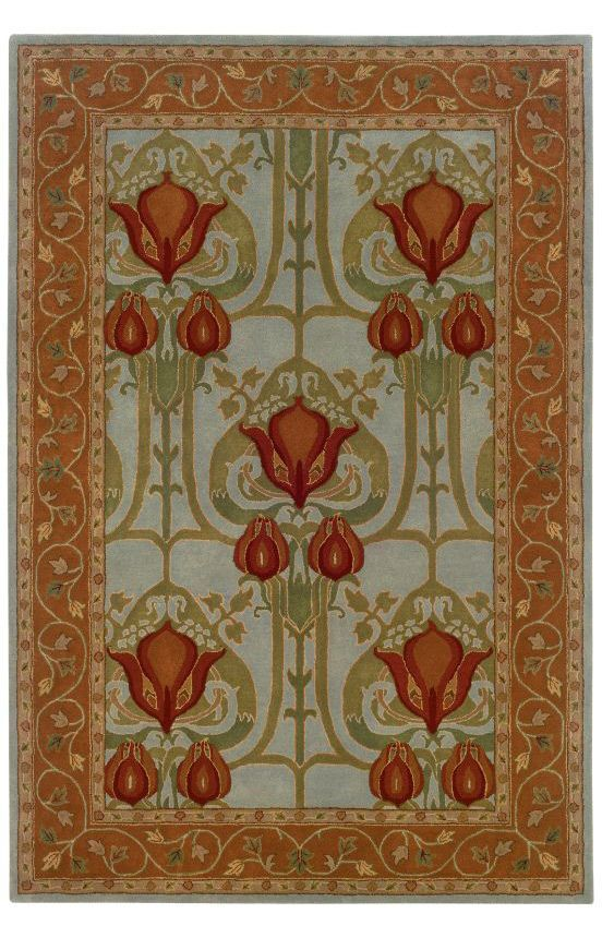 Arts And Crafts Style Area Rugs Arts And Crafts Interiors Arts