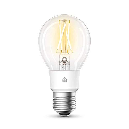 Tp Link Kl50 Kasa Smart Wlan Filament Gluhbirne Lampe Mit E27 Sockel Warmweiss Dimmbar 7w Kompatibel Mit Amazon Alexa Google Home If In 2020 Gluhbirne Wlan Lampe