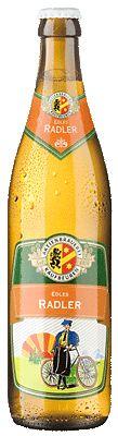Los ciclistas generalmente considerados como la principal bebida mezclada en Baviera. Graduación alcohólica: 2,8%