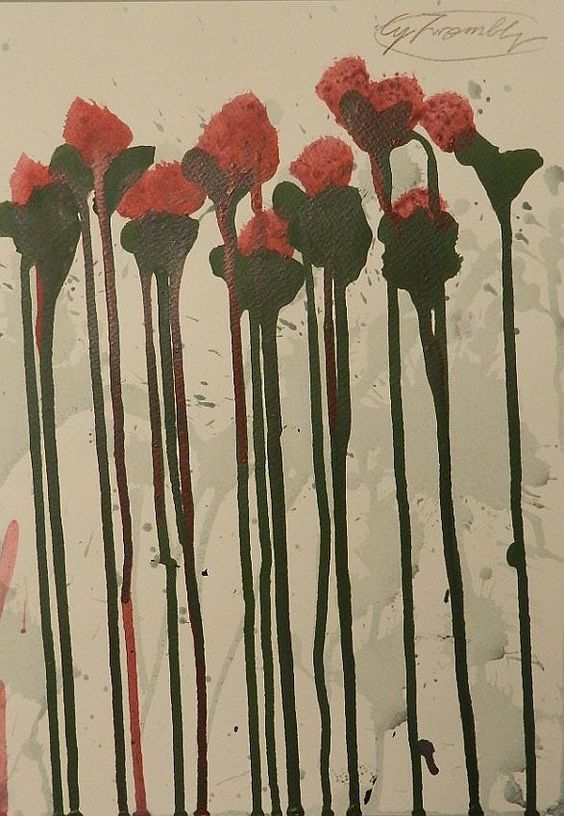 Cy Twombly (1928-2011)Medium: Acrylic & Watercolor on paper   Measures: 13.5 x 9.75 inches: