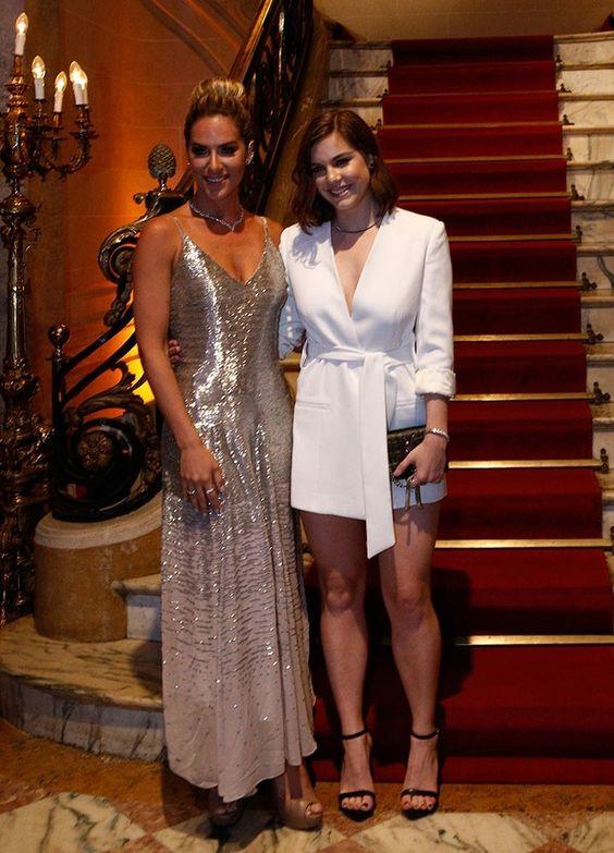 Giovanna Ewbank e Alice Wegmann