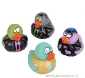 Wholesale | Novelty Zombie Halloween Rubber Ducks (5cm)