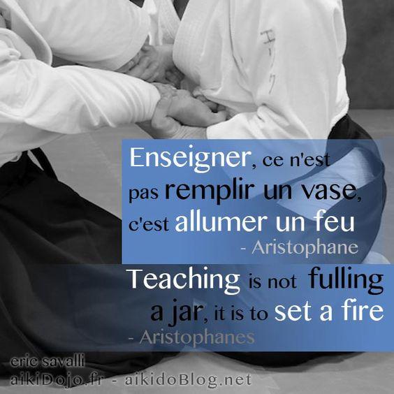 Aristophanes - Enseignement - Aikido Blog (.net)