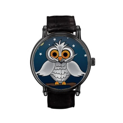 Full Moon Owl Watches