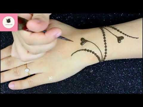 New Dots Bracelet Mehndi Design 2019 Easy Simple Mehndi Design Back Hand Henna Art Yout Simple Henna Tattoo Finger Henna Designs Mehndi Designs For Hands