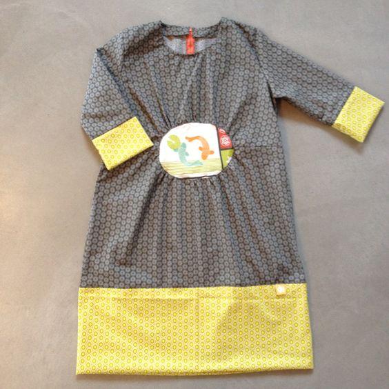 Une robe adaptée d'un patron de Ottobre
