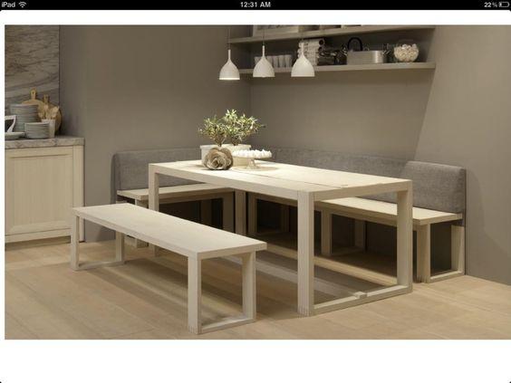 Mesa banco esquinero para cocina buscar con google for Rinconeras de cocina