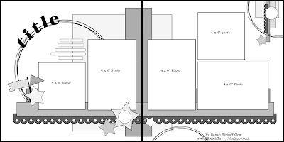 sketch savvy: 2 page sketch #16