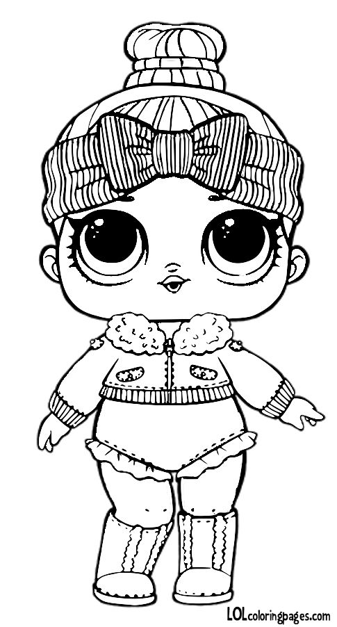 Lolcoloringpages Com Wp Content Uploads 2017 11 Cozy Babe Jpg Lol Dolls Cute Coloring Pages Coloring Pages