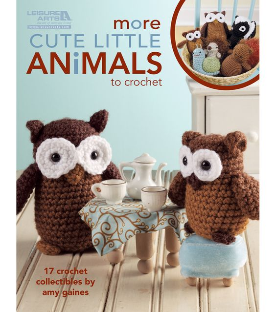 Leisure Arts-More Cute Little Animals To CrochetLeisure Arts-More Cute Little Animals To Crochet,  6.57