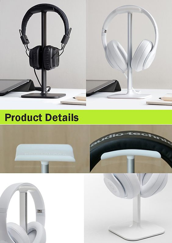 Aluminium Alloy Headset Stand Holder-7.32 and Online Shopping   GearBest.com Mobile