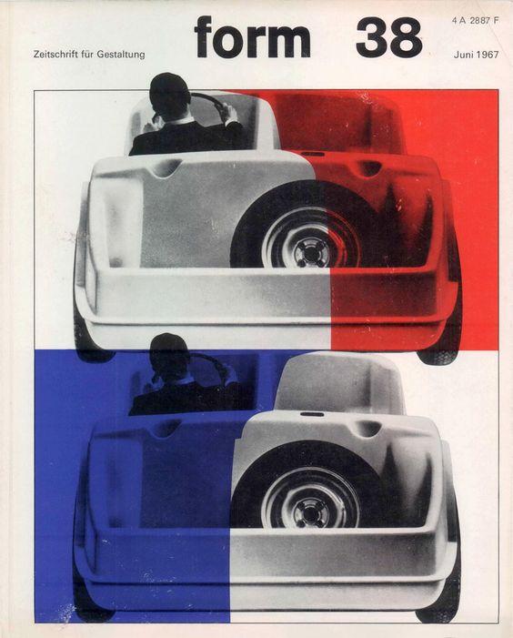 form N° 38. Jun 1967. Cover: Karl Oskar Blase. © Verlag form GmbH & Co. KG