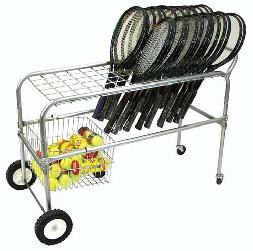 Deluxe Wheeled Racquet Cart Ra058m Athletics Tennis Equipment Tennis Storage Equipment Tennis Equipment Racquets Tennis Crafts