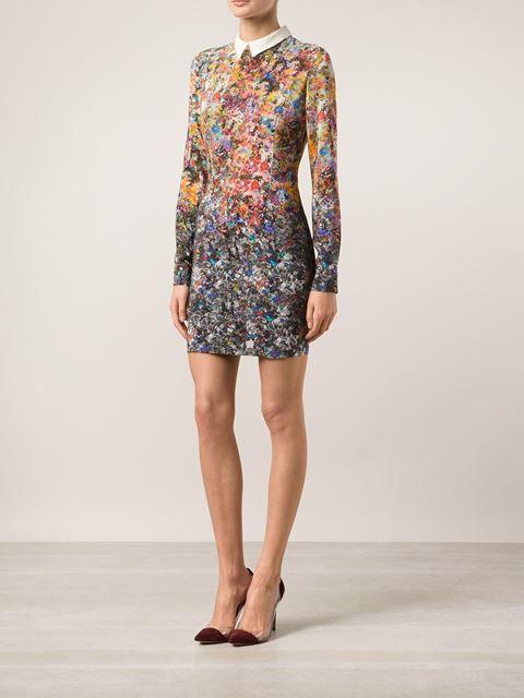 Roseanna colorful silk dress