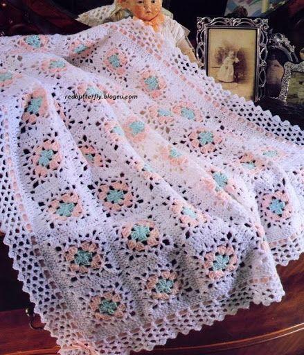 Crochet mantas bebê - 103198663999176401825 - Álbuns da web do Picasa