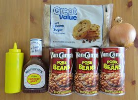 The Country Cook: Crock Pot Baked Beans
