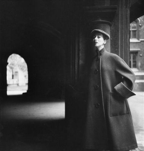 Della Make photographed by Henry Clarke. Image via Pinterest.