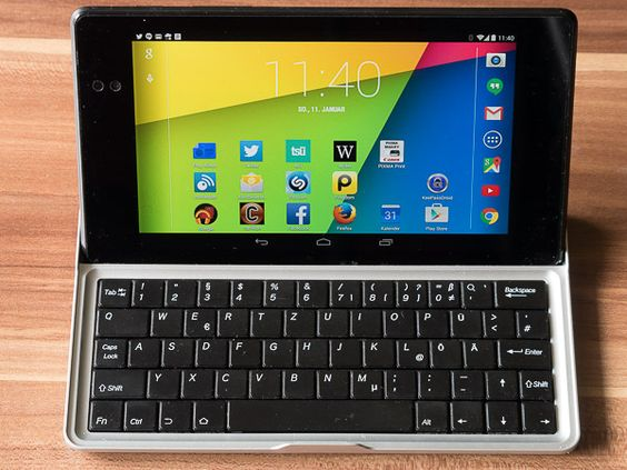 7 Zoll Tastatur für das Nexus 7 2013 Tablet, eine Ergänzung für Mehrschreiber #petermarbaise #tuxoche
