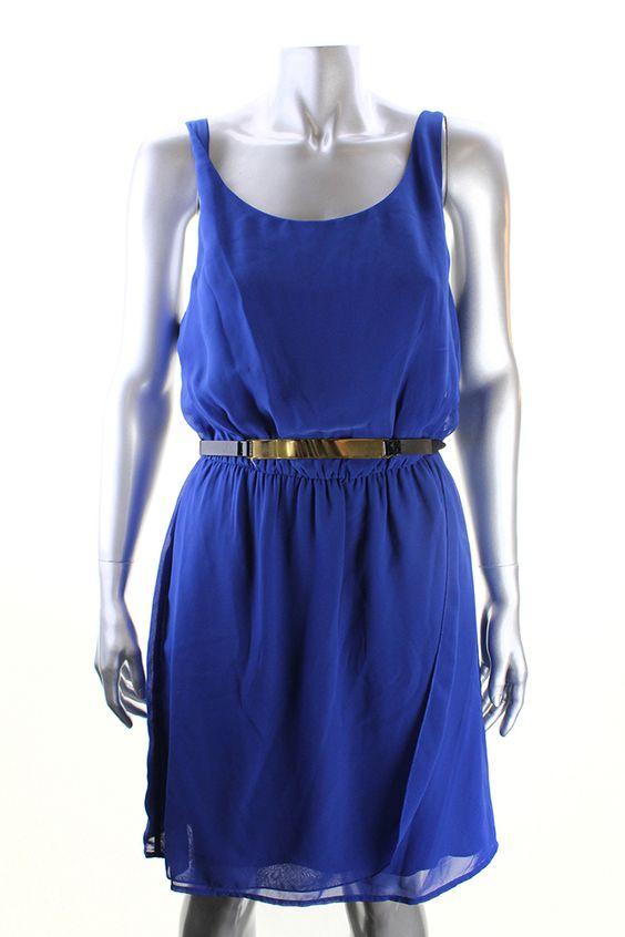 studio new blue sleeveless cutout back dress   d3d71ba2asa5oz