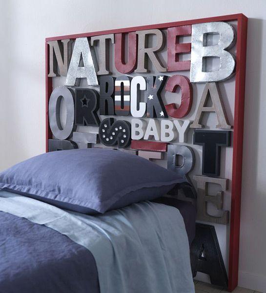 Idees d coration facile t te de lit originale castorama chambres d 39 - Castorama canape lit ...