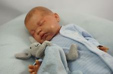 "Reborn Baby Boy Doll Vinyl 20"" Full Limbs"