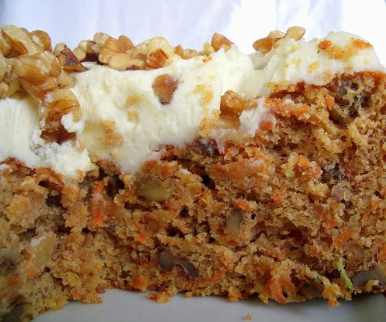 Carrot Cake with Lime Mascarpone Icing