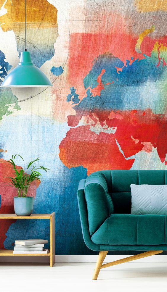 Seasons Change Abstract Wall Murals Mural Wallpaper Mural